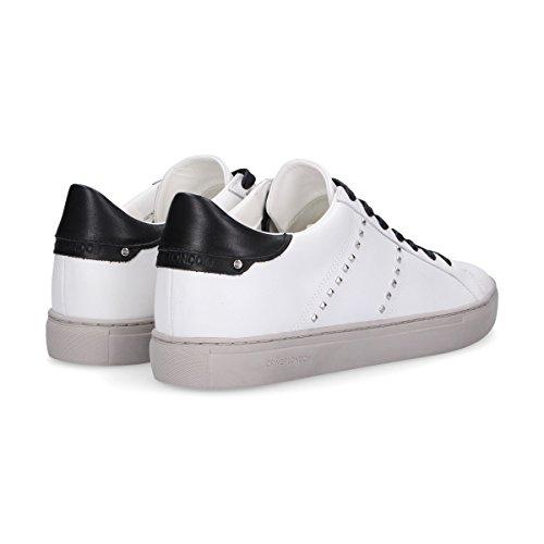 Misdaad Londen Herren 11221ks110 Weiss Leder Sneakers