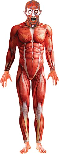 Morris Costumes Halloween Party Adult Anatomy Man Medium 38-40