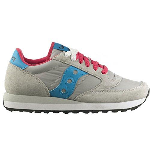 Saucony - Zapatillas para mujer 428 GREY BLUE