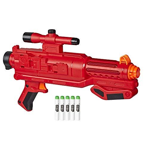 Star Wars Nerf (Star Wars Nerf Sith Trooper Blaster -- Lights & Sounds, Glowstrike Technology, 5 Official Nerf Glowstrike Darts -- for Kids, Teens,)