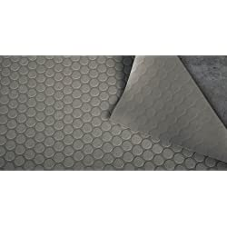 BLT G-Floor NEW Small Coin 60 Mil 10ft x 24ft Slate Gray