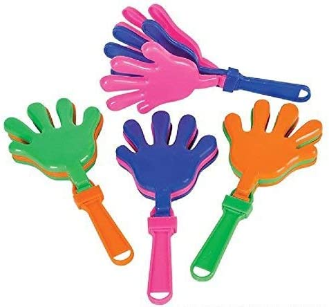 7.5 Hand Clappers ~ NOISE MAKERS ~ rin 24
