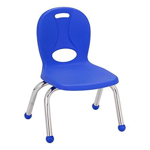 learniture lnt-110-cbg-so-bl estructura Series sillas de escuela, 25.4cm altura del asiento, azul, lnt-110-cbg-so-bl...