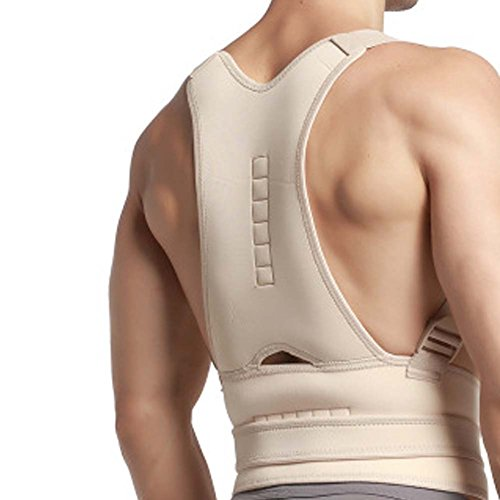 DIBIO Back Brace with Suspenders for Men - Adjustable - Removable Shoulder Straps - Lumbar Support Belt for Back Pain, Herniated Disc, Sciatica, Scoliosis for Women & Men by DIBIO