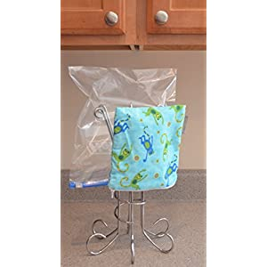 Multi-Purpose Drying Rack--sports water bottles, food storage bags, dish cloths, baby bibs, baby bottles, rubber gloves, e-cloths, washcloths, towels, plastic bag dryer