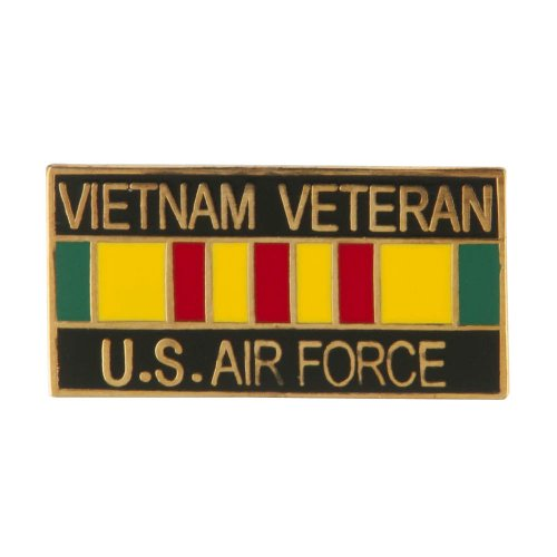 Vietnam Veteran Ribbon Cloisonne Military Pins - Air Force OSFM