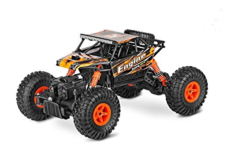 Zacy RC Cars Rock Off-Road Vehicle Crawler Truck 2.4Ghz 4WD High Speed 1:18 Radio Remote Control Racing