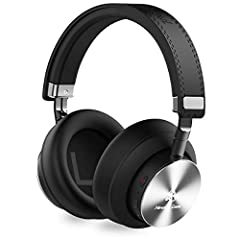 Miracle&Lesoul A7 Over Ear Bluetooth Headphones. 25 Hours Playtime and Clear Sound with Deep Bass.Much Better Sound:High-quality built-in Microphones and 40mm large-aperture drivers give you CD-quality sound.Soft Memory-protein Earmuffs:S...