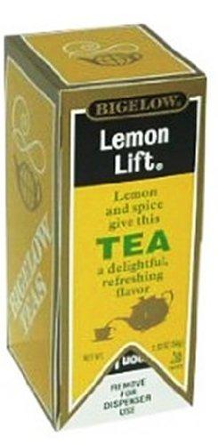 Bigelow Lemon Lift Tea, 28-Count (Pack of (Bigelow Premium Black Tea)