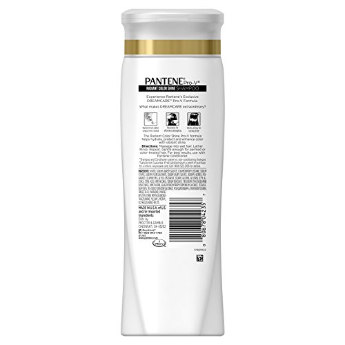 080878042357 - Pantene Pro-V Radiant Color Shine Shampoo, 12.6 fl oz (Pack of 6) carousel main 1