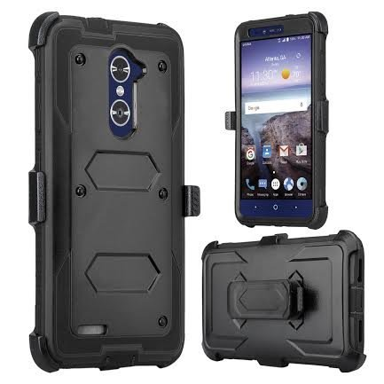 buy popular 655b0 6c3b9 SOGA Cover Compatible for ZTE Blade X Max Case, Zmax Pro Case, Grand X Max  2 Case, ZTE Max Duo LTE Case, Shockproof Rugged Hybrid Armor Case Cover ...