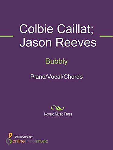 Bubbly Kindle Edition By Colbie Caillat Jason Reeves Arts