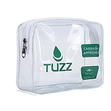 TSA Approved Clear Travel Toiletry Bag quart bags with zipper for men women    Airline 3. Amazon com   TSA Approved Clear Travel Toiletry Bag quart bags