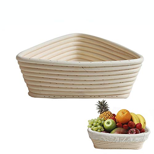 Best Quality - Baking Inserts - Creative Fermentation Rattan Basket Country Bread Baguette Dough Banneton Bread Mould Pastry Storage Holder Fruit Baskets - by GTIN - 1 PCs
