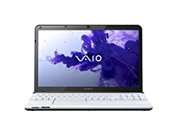 Sony VAIO E Series SVE15135CXW 15.5-Inch Laptop (White)
