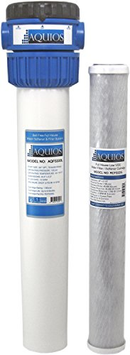 Aquios FS-220L Whole House Water Softener/Filter System, VOC Reduction