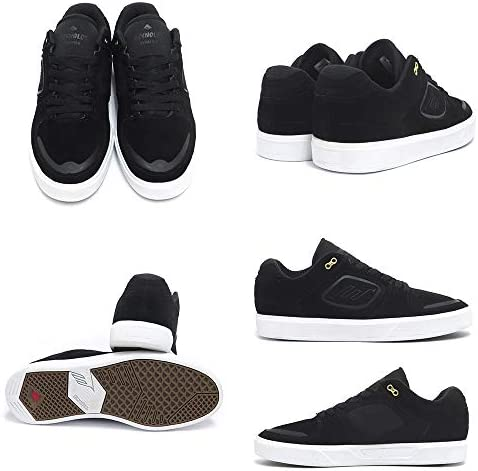 [エメリカ] SHOES シューズ スニーカー REYNOLDS G6 黒/白 BLACK/WHITE スケートボード スケボー SKATEBOARD