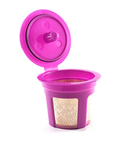 Alchemy Superior Goods 24K Gold Reusable K-Cup Filter for Keurig 2.0 / 1.0 Series Small Single Serve K-Cup Coffee Maker