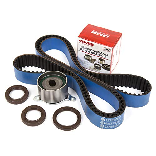 (Evergreen TBK247HP Race Series Timing Belt Kit Fit 92-01 Acura Integra GSR Type-R 1.8L DOHC B18C1 B18C5 16V)