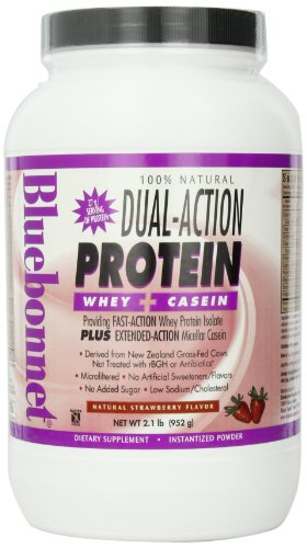 Dual Action Protein Strawberry Bluebonnet 2.1 lbs Powder