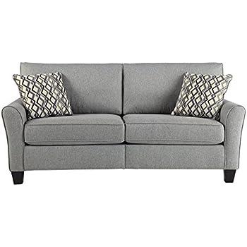 Signature Design By Ashley 3310138 Strehela Contemporary Sofa, Silver