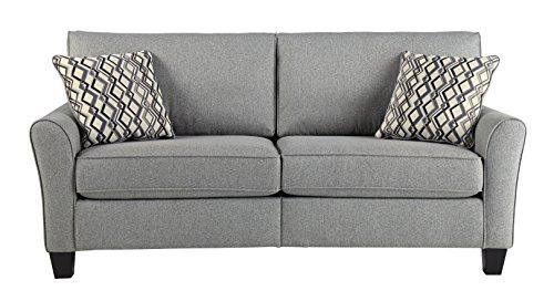 Ashley Furniture Signature Design - Strehela Contemporary Sofa - RTA Sofa in a Box - Modular Assembly - Silver
