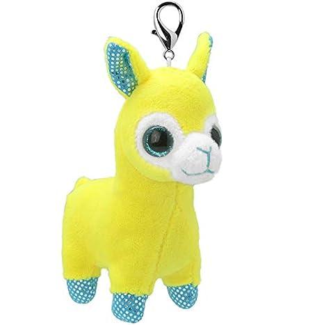 ORBYS Wild Planet 10cm Luxury Handmade Llama Soft Toy. Keyring ...