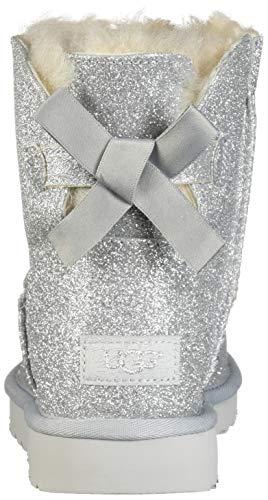 1100053 W Argento slvr Sparkle Bailey Bow Ugg Mini w1vqFI