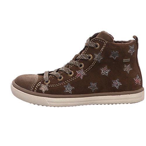Lurchi 33-13603-24 - Zapatillas de Piel para niña marrón