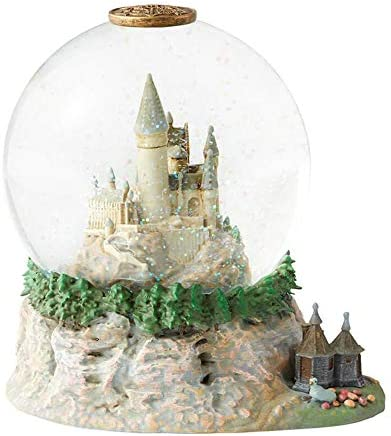 Enesco Wizarding World of Harry Potter Hogwarts Castle Water Globe, 7.1 , Multicolor