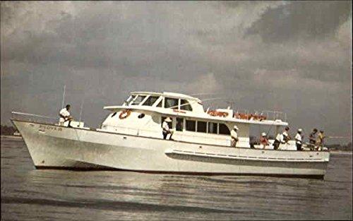 (B-Love Iii Driftboat, Sportsman's Park Boats Ships Original Vintage Postcard)