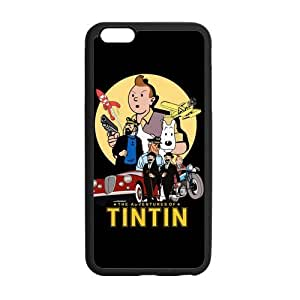 iPhone 6 Plus Case, [the adventures of tintin] iPhone 6 Plus (5.5) Case Custom Durable Case Cover for iPhone6 TPU case(Laser Technology)