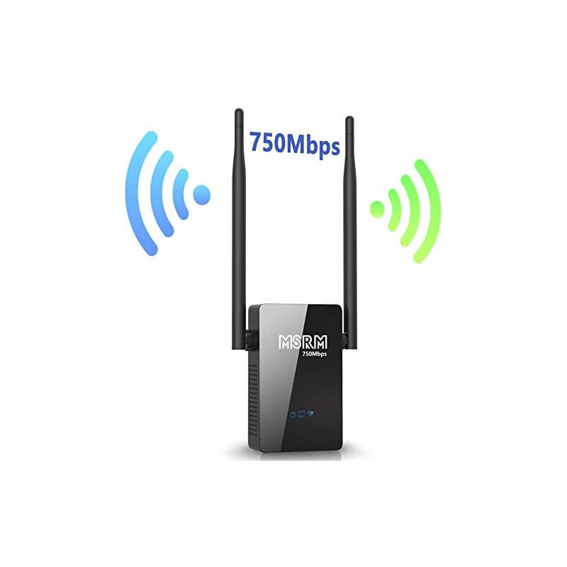 MSRM WiFi Range Extender US750 360 Degre