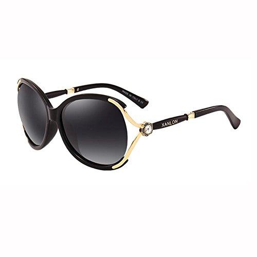 Street Anti Caja Beat Grande UV Gafas J Sra Vendimia Sol Mosaico H De Diamante WX Lujoso Color xin Gafas 1BpwqO
