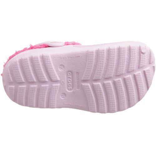 Kids Hello Fuchsia Custom Bubblegum Lined Kitty Clogs Crocs gq8wSdFg