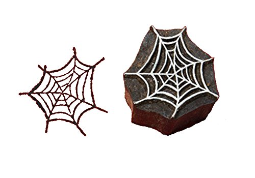 Blockwallah Spider Web Wooden Block