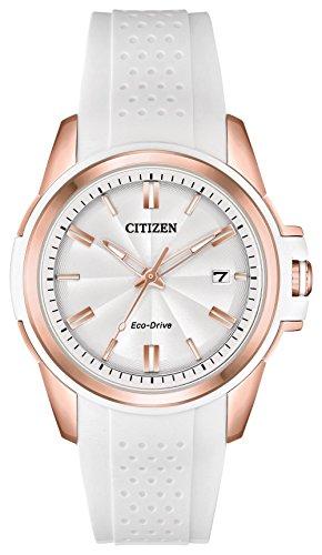 Citizen FE6136-01A AR Women's Watch White 38mm Stainless (Citizen White Wrist Watch)