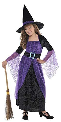 Amscan Girls Pretty Potion Witch Costume - Medium (8-10) -