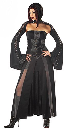 [California Costumes Women's Baroness Von Bloodshed Costume, Black/Grey,Small] (Baroness Von Bloodshed Costumes)