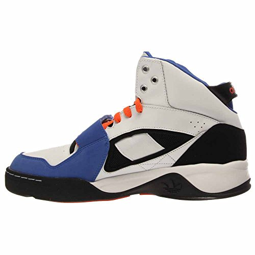 sports shoes 155b9 11c61 ... discount adidas originals streeball 15 basketball sneaker sko herre  hvid levende blå 8dc7c c08b0