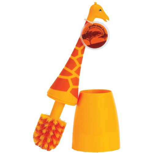 Boston Warehouse Toilet Brush, Giraffe