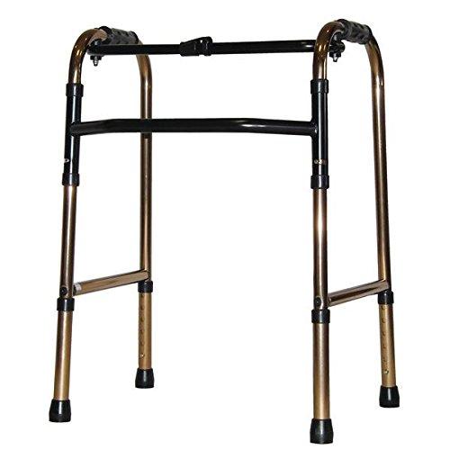 アクションジャパン 歩行器 折りたたみ式歩行器 標準タイプ ブロンズ C2021【非課税】 B07D1L6PWD