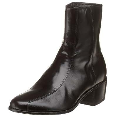 Florsheim Men's Duke Side Zip Dress Boot ,Black,6 EEE