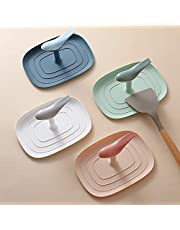 GGJIN Household Kitchen Pot Lid Storage Rack Brush Rag Holder Pad Multifunctional Plastic Rack (Color : White)