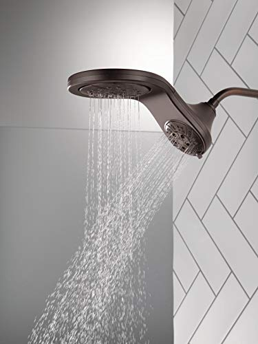 Delta Faucet 58581-RB-PK HydroRain H2OKinetic 2-in-1 Shower Combo, Bronze