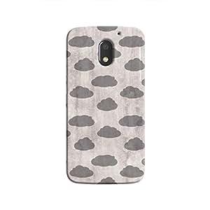 Cover It Up - Grey Clouds Moto E3 Hard case