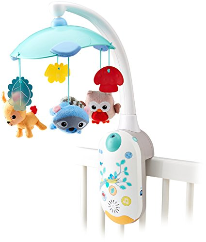 Fisher Price Moonlight Meadow Smart Connect 2 In 1 Projection Mobile