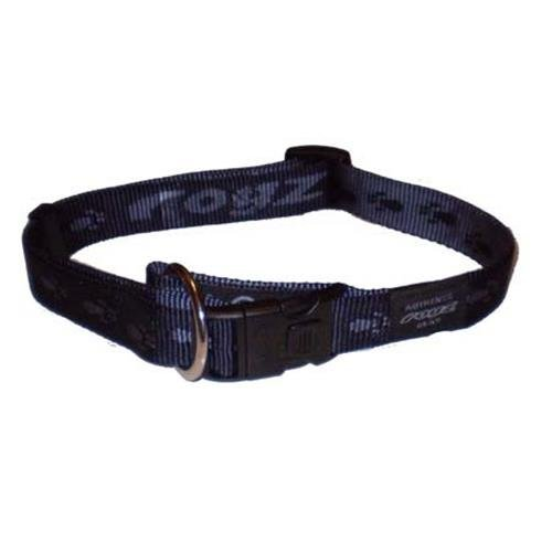 Rogz Alpinist K2 Black Dog collar - Large