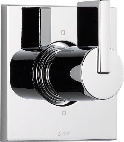 - Delta Faucet Vero 6-Setting Shower Handle Diverter Trim Kit, Chrome T11953 (Valve Not Included)