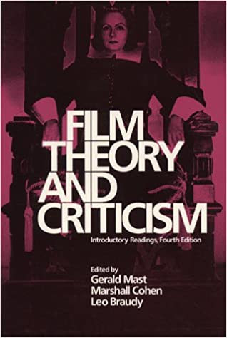 Amazon Com Film Theory And Criticism Introductory Readings 8601406454262 Mast Gerald Cohen Marshall Braudy Leo Books